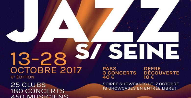 Festival Jazz sur Seine 2017 : 6ème édition du 13 au 28 octobre 2017